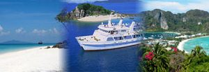 Package One Day Phi Phi Island with Lunch By Cruise